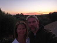 puerto-serrano-sunset-selfie
