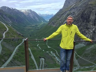 Trollstigen - (a with hairpins)