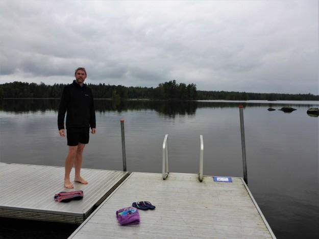 Oskarshamn - (considering a swim)