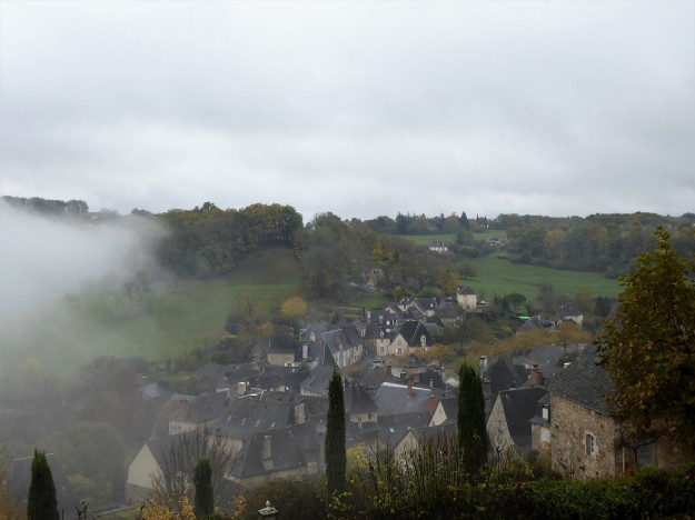 Turenne (view of valley below)