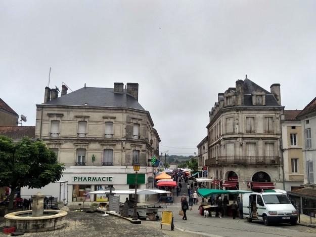 Chalais Market (town streets)
