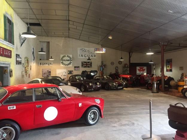 Domaine Tesseron - (car museum)